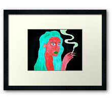 More Bad Habits Framed Print