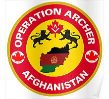Operation Archer Logo Poster