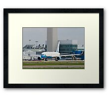 90003 Air Force Two Boeing VC-32A 757-2G4 Head On Taxi Framed Print