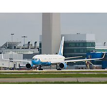 90003 Air Force Two Boeing VC-32A 757-2G4 Head On Taxi Photographic Print