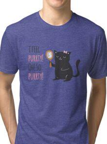 Catty Thoughts! Tri-blend T-Shirt