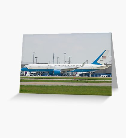 90003 Air Force Two Boeing VC-32A 757-2G4 Taxi KCLE Greeting Card