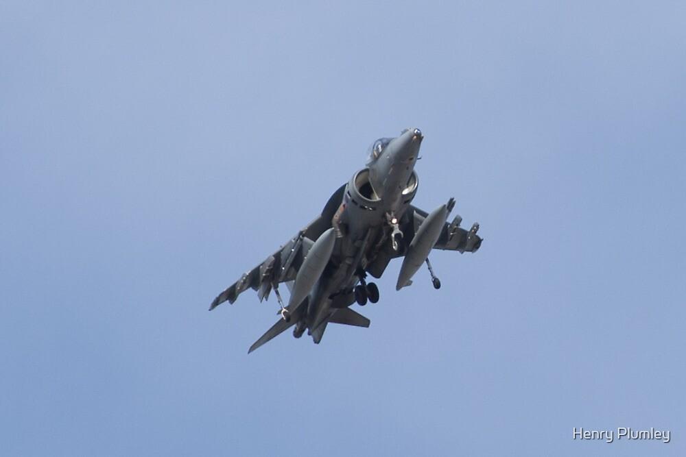AV8B Harrier Head On by Henry Plumley