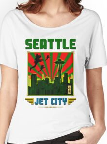 SEATTLE - JET CITY Women's Relaxed Fit T-Shirt
