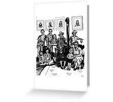 Depression Era Family Portrait Greeting Card