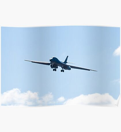 B-1B Bomber. DY AF 85 080, Head On Poster