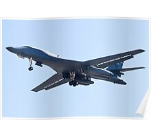 B-1B Bomber DY AF 85 105, on Approach Poster