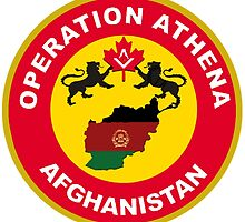 Operation Athena Logo by Spacestuffplus