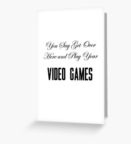 Lana Del Rey Video Games Greeting Card