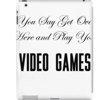 Lana Del Rey Video Games iPad Case/Skin