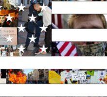 Occupy America Shirt Sticker