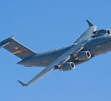 AFRC 05-5145 C-17A Globemaster III High Speed Pass by Henry Plumley