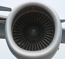 AFRC 93-0603 C-17A Globemaster III Engine by Henry Plumley