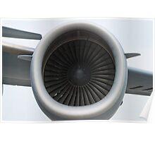 AFRC 93-0603 C-17A Globemaster III Engine Poster