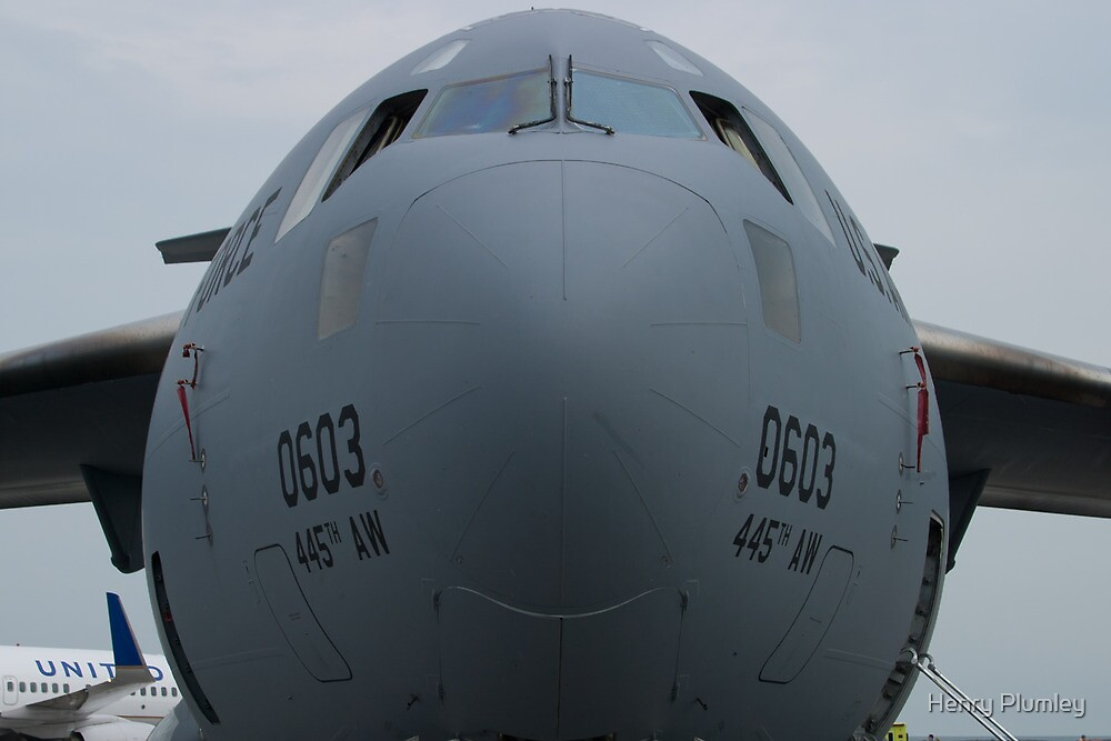 AFRC 93-0603 C-17A Globemaster III Nose by Henry Plumley