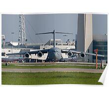AMC 06-6156 C-17A Globemaster III  Poster