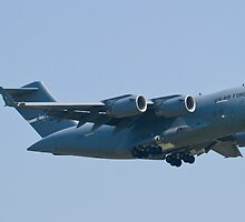 Side Shot AMC 06-6156 C-17A Globemaster III by Henry Plumley