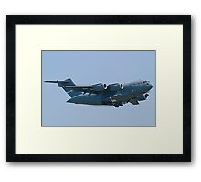 Side Shot AMC 06-6156 C-17A Globemaster III Framed Print
