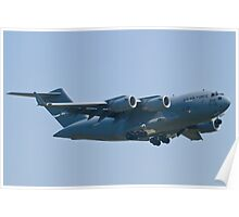 Side Shot AMC 06-6156 C-17A Globemaster III Poster