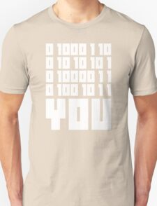 Fuck You - Binary Code T-Shirt