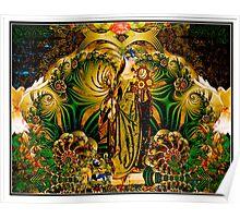 Eyasha, Goddess of Peace and Tranquility  Poster