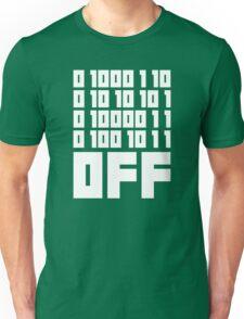 Fuck Off - Binary Code Unisex T-Shirt