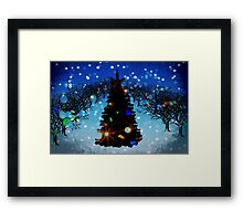Christmas comes but once a year. Framed Print