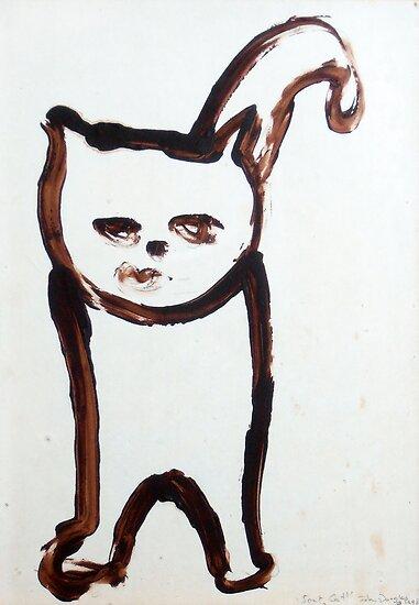 Scat, Cat! 6 by John Douglas