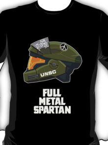 Full Metal Spartan (dark) T-Shirt