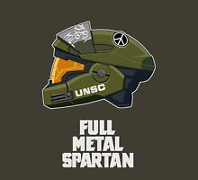 Full Metal Spartan (dark) Unisex T-Shirt