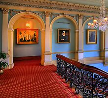 The Hall right -  Werribee Masion by Hans Kawitzki