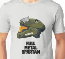 Full Metal Spartan (light) Unisex T-Shirt