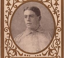 Benjamin K Edwards Collection Harry Lumley Brooklyn Superbas baseball card portrait by wetdryvac