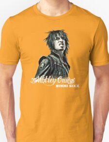 New Nikki Sixx SIXX AM Motley Crue Bad Boys Men's Black T-Shirt T-Shirt