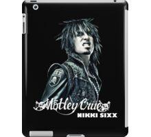 New Nikki Sixx SIXX AM Motley Crue Bad Boys Men's Black T-Shirt iPad Case/Skin