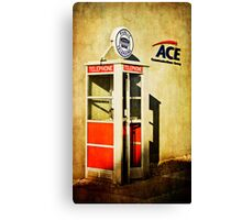 Public Telephone Canvas Print