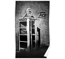 Public Telephone - Mono Poster