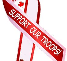 Canadian Forces:  Support Our Troops by Spacestuffplus