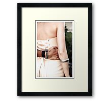 To have and to hold Framed Print