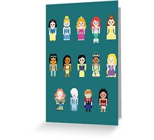 Princesses Greeting Card