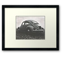 Moody Moment Framed Print