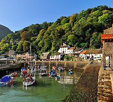 Lynmouth Harbour, Lynmouth, Devon, UK by bevanimage