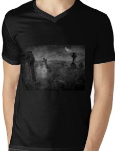Lost in the Night Mens V-Neck T-Shirt