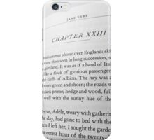 Jane Eyre - Chapter 23 iPhone Case/Skin