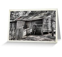 The Shearing Shed - Australiana Pioneer Village Wilberforce NSW Australia Greeting Card