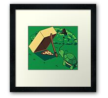 Turtle Trap Framed Print