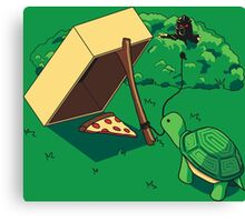 Turtle Trap Canvas Print