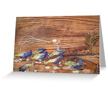 Migrated Birds  Greeting Card
