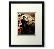 Preacher Man Framed Print