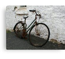 Rusty Pushbike 1 Canvas Print